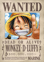 "Плакат ""Монки Д. Луффи. Розыск"" One Piece, купить онлайн id767128079"
