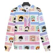 BTS Print Fleece Бтс Принт Толстовка, купить в Украине id1223696098