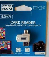 Кард-рідер Goodram USB microSD Card reader OTG USB 2.0/micro-USB купити онлайн id1682424947