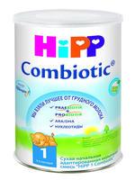 Купить Смесь сухая молочная HiPP 1 Combiotic, с рождения, 800г id675355013