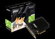 Комп'ютерна Відеокарта MSI GeForce GT710 2GB DDR3 64bit low profile silent  id443449222