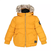 Куртка стеганая мальчикам 4 - 14 лет шафран IKKS JUNIOR id292818200