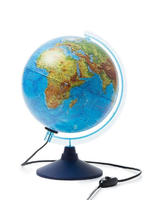 Интерактивный глобус Земли физико-политический, 25 см., с подсветкой id1709898731