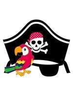 Открытка - Веселый Пират и его папугай id1076724241
