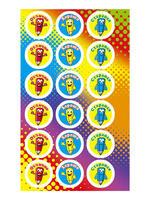 Веселые детские наклейки - Мистер Карандашек id736281480