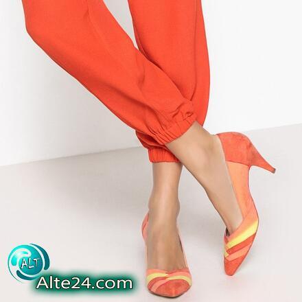 Туфли с графическим многоцветным принтом, купить недорого id1640366710