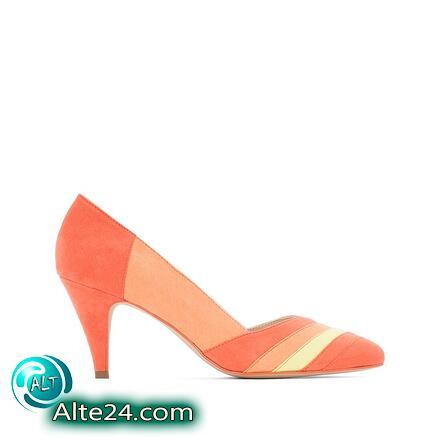 Туфли с графическим многоцветным принтом, купить недорого id1639150452