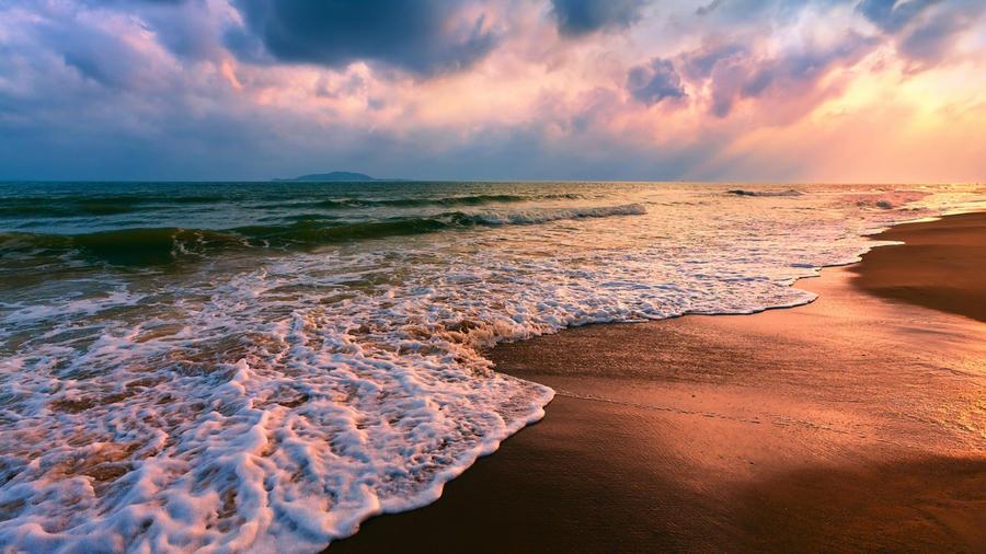 Фотообои - великолепные Моря Природа, Море, Восход, Закат, Берег Моря id796449654