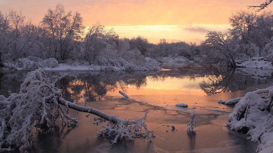 Обои - сказочная Зима - часть 2 Природа, Арт, Зима, Восход, Закат, Лес, Парк, Ночь 124570872