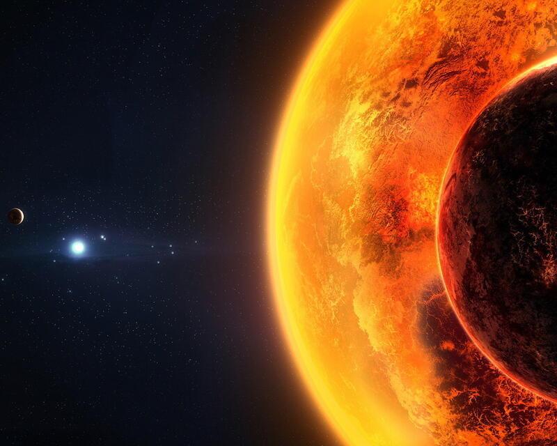 Фантастичні Фотошпалери космічного Всесвіту Космос, Всесвіт, Планети, Земля, Сонце id1119202530