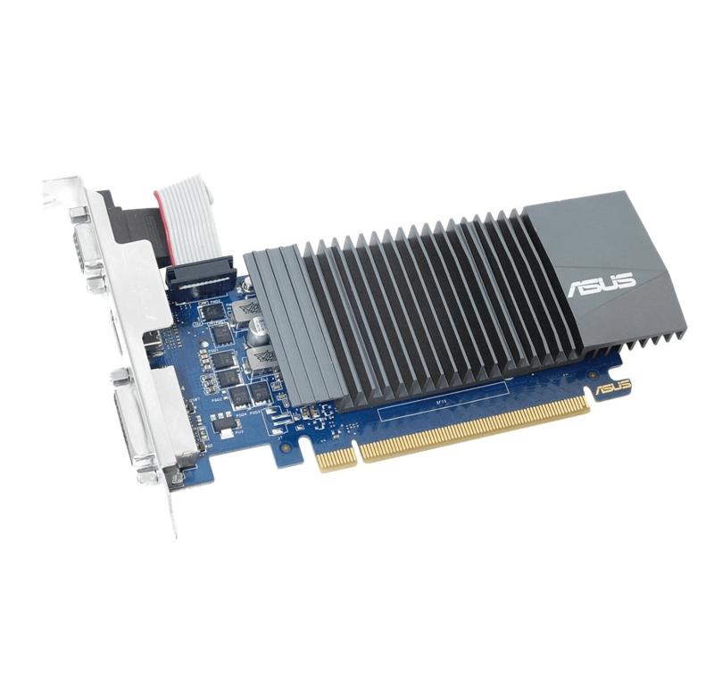 Відеокарта Asus GeForce GT710 1GB DDR3 low profile silent id1320190949