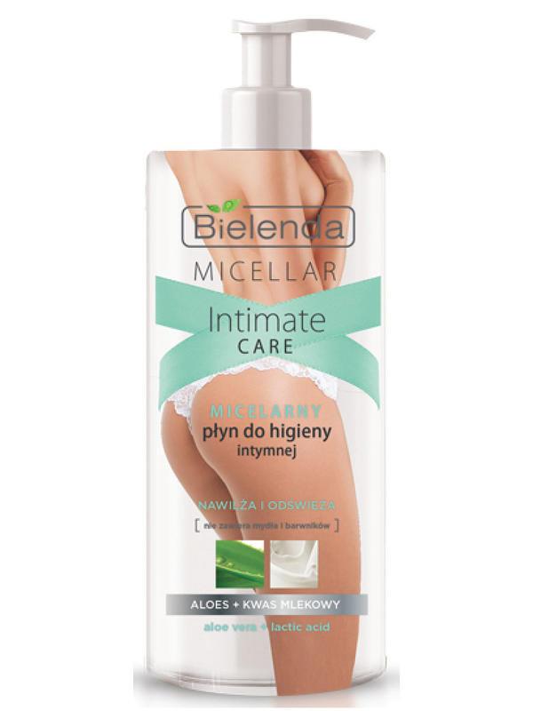 BIELENDA  Гель для интимной гигиены мицеллярный, Алоэ+Молочная кислота, 300 мл. id1003792912