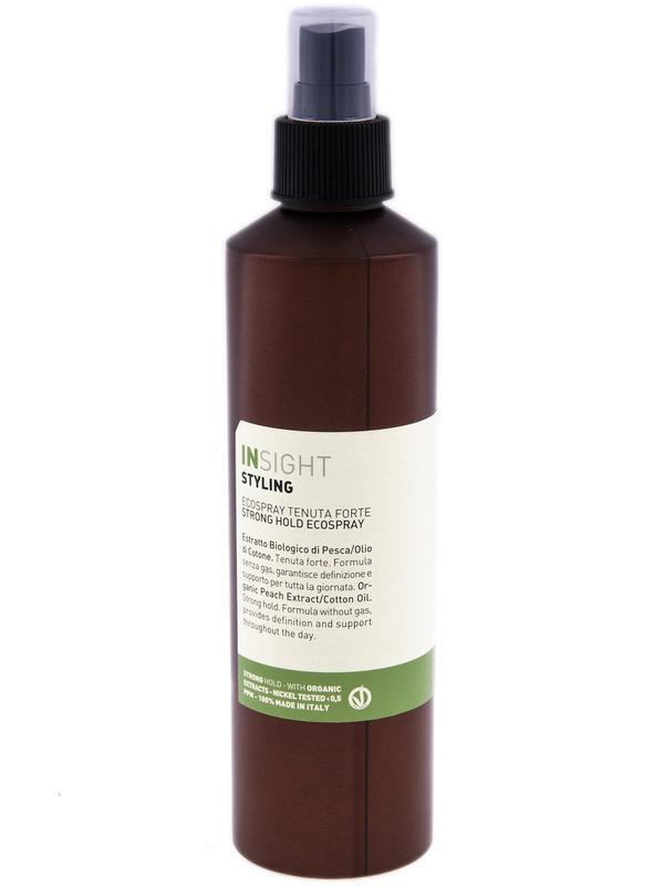 Insight - Эколак сильной фиксации с хлопковым маслом, 250 мл id2137799840