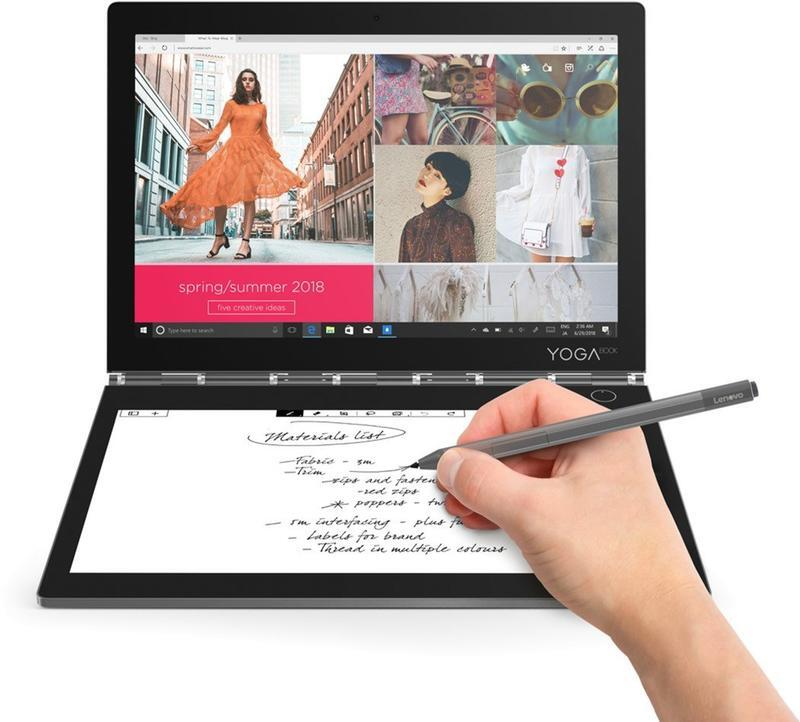 Оригінальний Ноутбук Lenovo Yoga Book C930 4/256GB LTE Windows 10 Home Iron Gray id1345899683