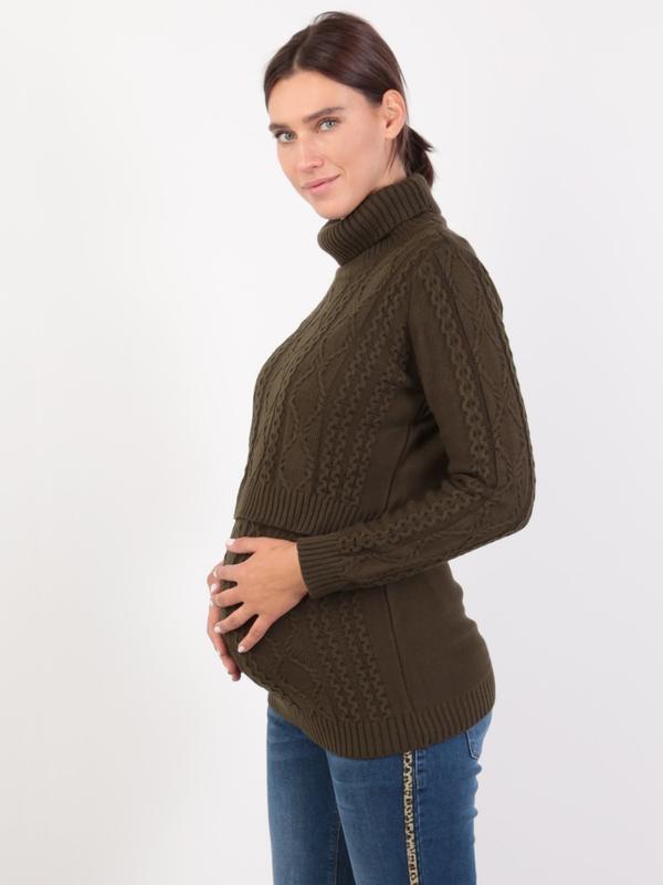 Купить Джемпер-водалазка для беременных и кормящих id1120588122