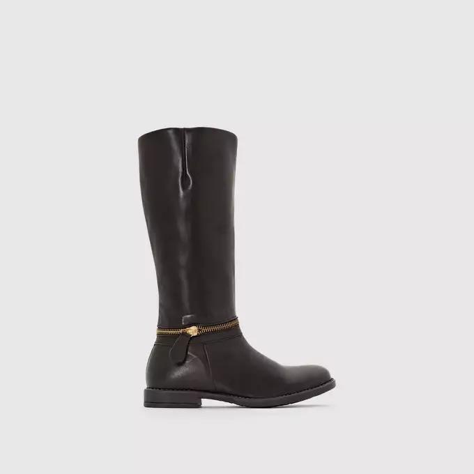 Детские Сапоги кожаные черный LA REDOUTE COLLECTIONS id658962232