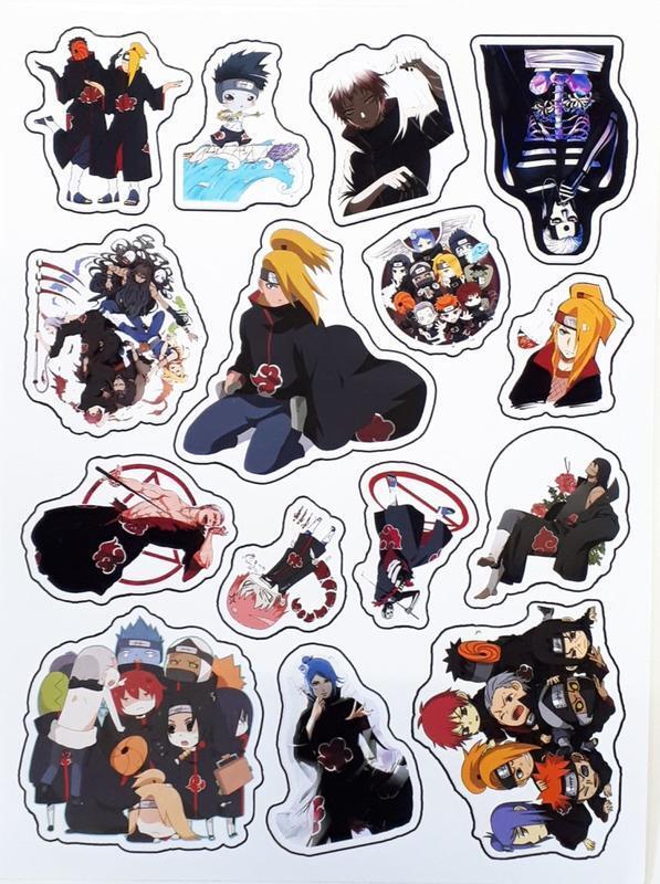 Naruto Sticker A Наруто Лист Стикеров id512123910