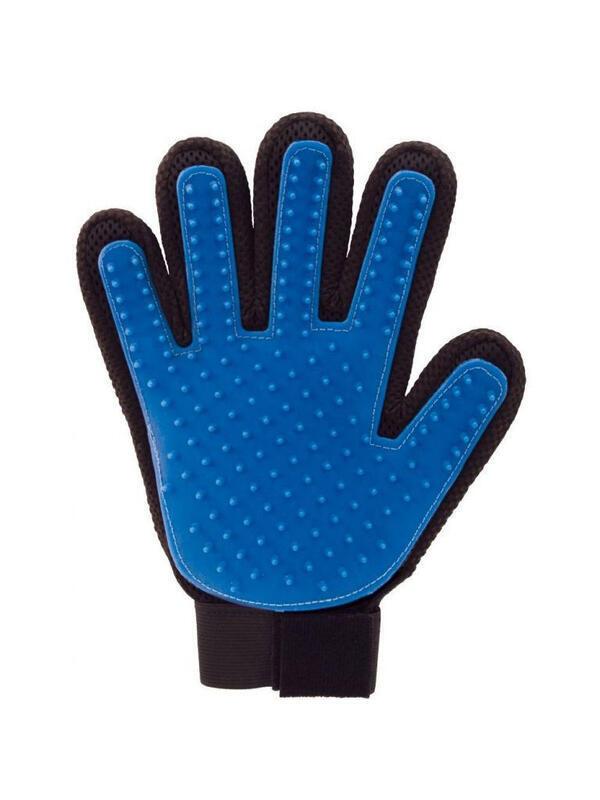 Качественная Перчатка щетка для домашних животных для вычесывания шерсти, 23х15 см Україна, -Чернiгiв id1352105020