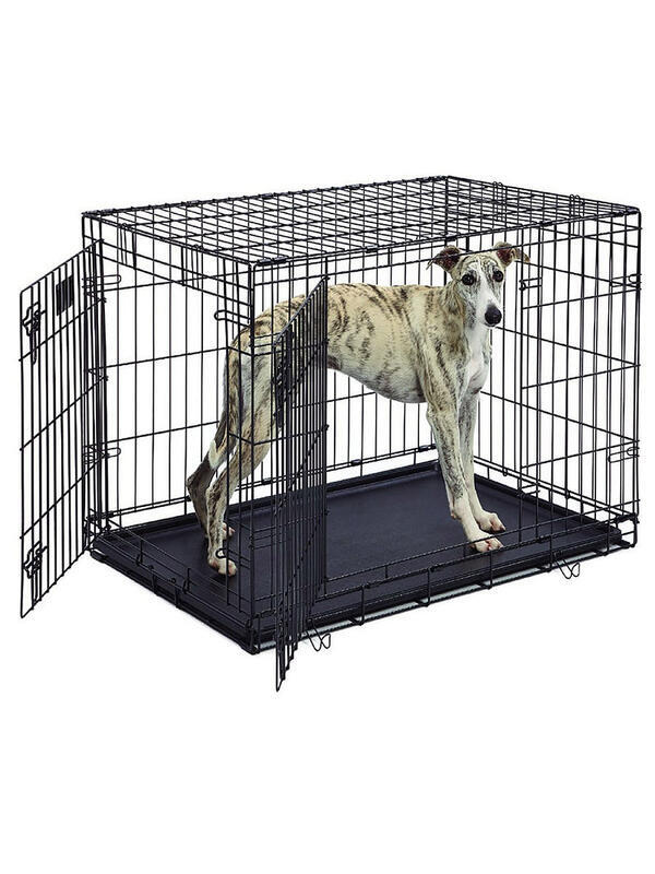 Клетка для домашних животных 95х65х67h см 2 двери черная Україна, -Чернiгiв id1506132193