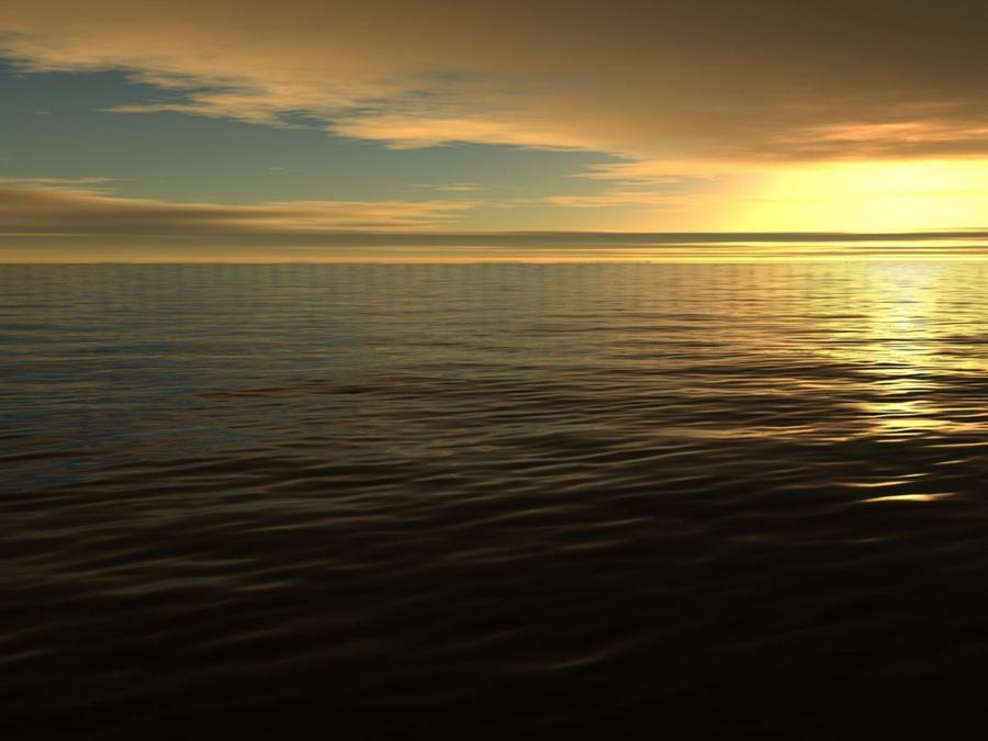 Обои - Загадочные Моря Природа, Море, Восход, Закат, Дельфины, Берег Моря 710356021