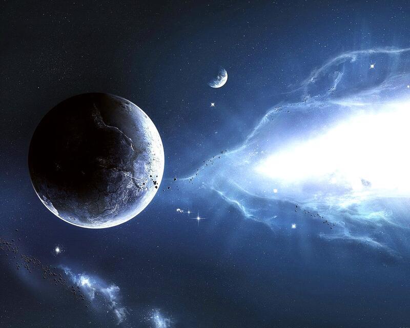 Фантастические Фотообои космической Вселенной Космос, Вселенная, Планеты, Земля, Солнце id1673844202