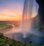 Обои сказочных водопадов Природа, Лес, Водопад, Закат, Восход, Джунгли 802349522