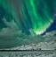 Обои - загадочное Полярное сияние Природа, Лес, Горы, Озера, Полярное сияние id2046373529