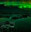 Обои - загадочное Полярное сияние Природа, Лес, Горы, Озера, Полярное сияние id281491866