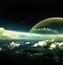 Фантастические Фотообои космической Вселенной Космос, Вселенная, Планеты, Земля, Солнце id1832098464