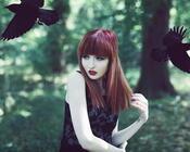 Уникальные обои лесных нимф Девушки / Женщины, Природа, Загадочные девушки, Блондинки, Рыжие, Лес, Нимфы id891733320