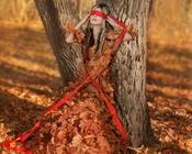 Уникальные обои лесных нимф Девушки / Женщины, Природа, Загадочные девушки, Блондинки, Рыжие, Лес, Нимфы id682339226