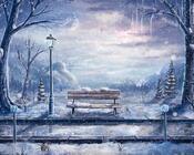 Обои - сказочная Зима - часть 1 Природа, Арт, Зима, Восход, Закат, Лес, Парк, Ночь id1937823348