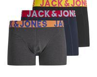 Мужские трусы боксерки черный + синий JACK & JONES, купить онлайн id724101943