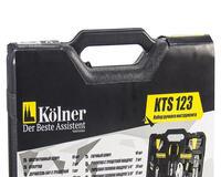 Купить недорого Набор ручного инструмента в пластиковом кейсе KTS 123 id510011512
