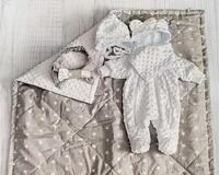 """Комплект для новорожденных детей на выписку """"Грей"""" 5в1 id1084555220"""