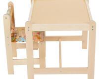Купить недорого Детский стол и стул Woodlines Каспер набор мебели для детей от 1 до 6 лет id45385068
