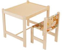 Купить недорого Детский стол и стул Woodlines Каспер набор мебели для детей от 1 до 6 лет id1446933044