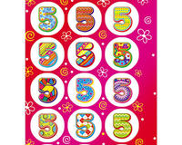 Детские наклейки пятерки, купить онлайн id876121137