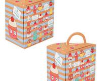"""Подарочная Упаковка для десерта """"Аппетитные пироженки"""" id756921112"""